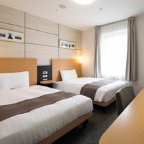 ◆ツインエコノミー◆ベッド幅123センチ◆広さ17平米◆