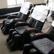 10階トレーニングルームのマッサージチェア