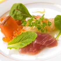 ◆スタンダード洋食コース-シーフードのカルパッチョ-◆