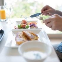 「幸せの朝食」/泊まるからこそ味わえる幸せの一瞬