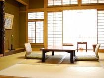 純和室の客室です。