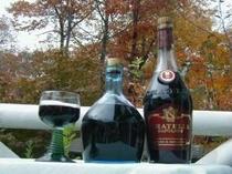さるなし酒・ブルーベリー酒など。