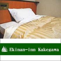 ■全室セミダブルベッド