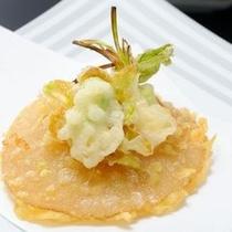 追加料理:ふかひれの天ぷら(イメージ)