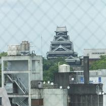 ◆ホテルから熊本城を望む◆