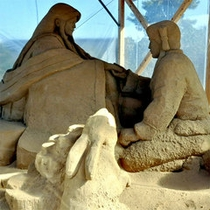 ■砂の彫刻■