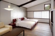 「東亭」新ベッドルーム