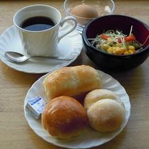 【サービス朝食】焼きたてパン