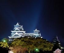 熊本城 ライトアップ