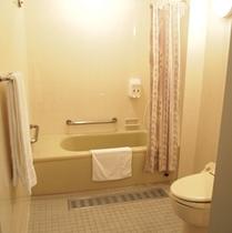 バリアフリールームのお風呂