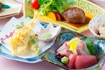 六花おすすめ夕食コース(イメージ)