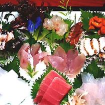 【追加料理】お刺身の皿盛り一例