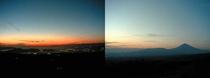 滝地山夜景
