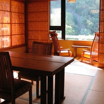 【別邸そらの庭】5階≪青嵐・野分・風花≫角部屋の眺めの良いお部屋です(写真は「青嵐」本間)