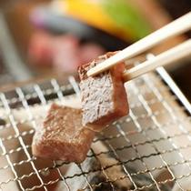 【料理】 上州牛 の陶板焼き