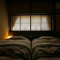 【別邸そらの庭】≪山瀬・有明≫ゆっくりくつろげる和モダンなベッドルーム(写真は「山瀬」)