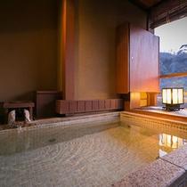 【別邸そらの庭】5階「野分」客室露天風呂