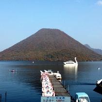 榛名湖は日本で2番目に標高の高い湖