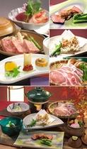 地元、上州の食材を中心とした、季節替わりの和食御膳をご用意させて頂きます。