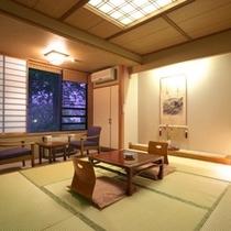 お部屋 和室(一例) [1〜2名様のご利用]ご夫婦、カップル、お一人でのご旅行にお勧めです。