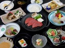京風会席料理一例(2016年5月)