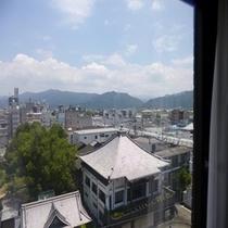 客室窓からの景色