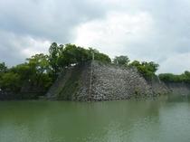 元和八年(1622)加藤正方公が築いた八代城趾