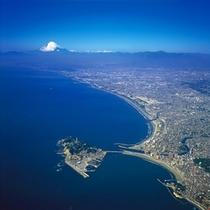 江の島航空写真