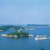 日本三景の一つ・松島 灯台