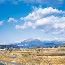 景観:霧島連山