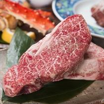 *【夕食(宮崎牛ヒレステーキ)】肉質がやわらかく脂肪が少ないので、幅広い年齢層の方におすすめです