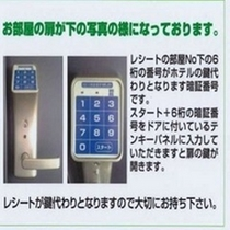 入室方法【日本語】