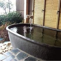 桃源のお部屋のプライベート露天風呂