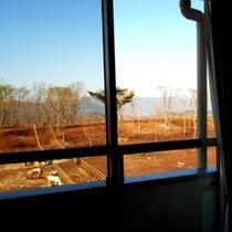 山側客室からの景観(一例)