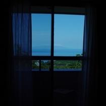 海側客室からの景観(一例)