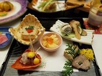 前菜5種盛り(秋)一例