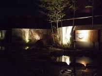 夜の露天風呂1