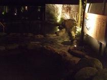夜の露天風呂5