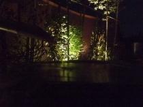 夜の露天風呂3