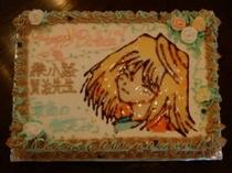「最高の微笑み」ケーキ