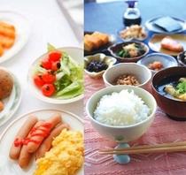 バイキング朝食は豊富なメニューから皆様のお好みでチョイス♪