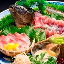 御造り 信州佐久鯉のあらい(初夏の会席コース2014)