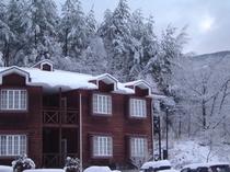 宿泊館(冬)