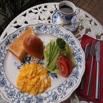 【プラザ】朝食付きプランのアメリカンブレックファスト