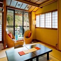 【本館 仙景】通常プランのお部屋も12畳以上でゆったり