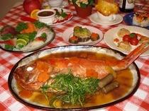 金目鯛の姿煮コース