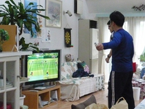 大型テレビでゲームなどお楽しみください。