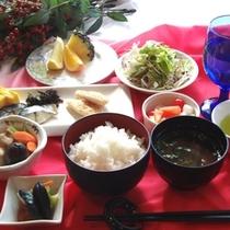 アークホテル仙台のバイキング朝食の一例