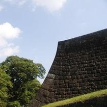 ★雄大な仙台城の石垣  ★
