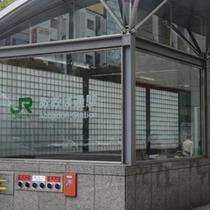 ★JR・仙石線の青葉通駅★⇒